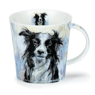 CAIR DOGS ON CANVAS COLLIE