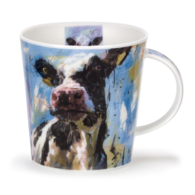 C/GORM ANIMALS ON CANVAS COW