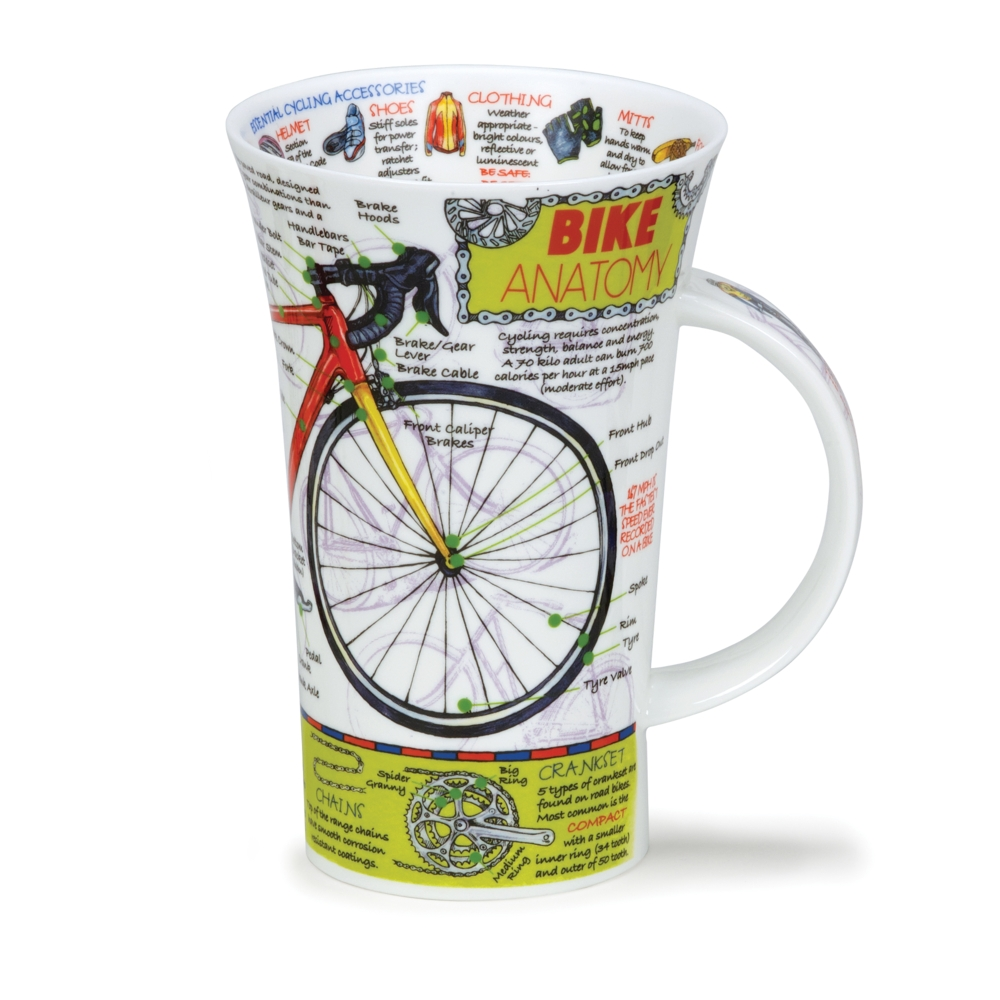 GLENCOE BIKE ANATOMY - Dunoon Mugs