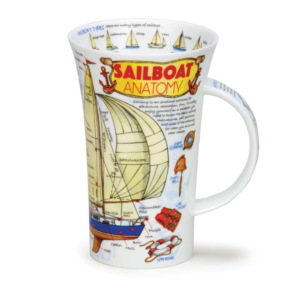 GLENCOE SAILBOAT ANATOMY - Dunoon Mugs