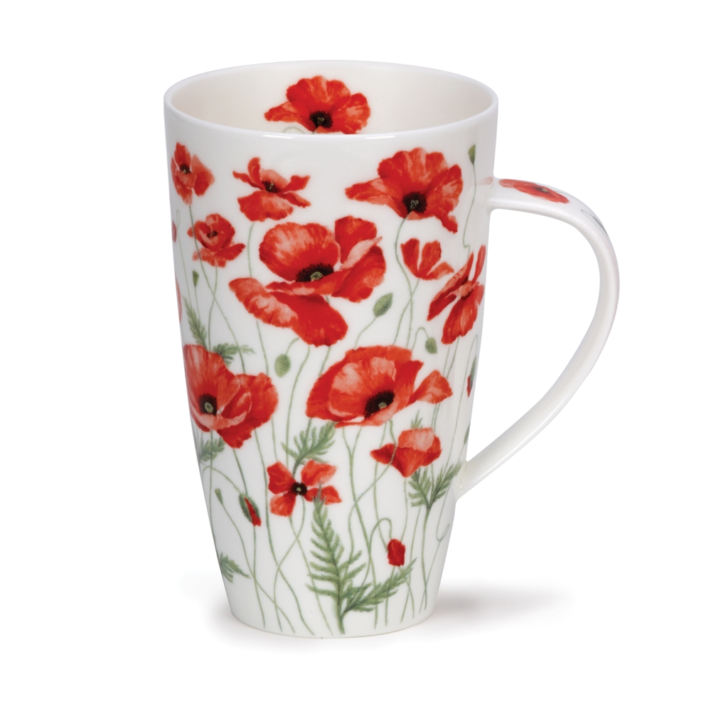 HENLEY POPPIES RED