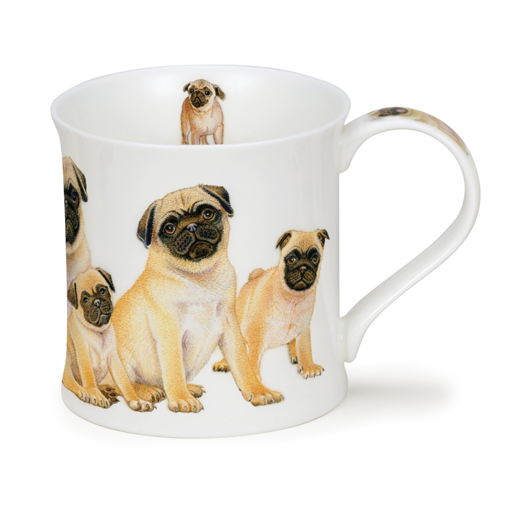 Wess D Dogs Pugs Dunoon Mugs