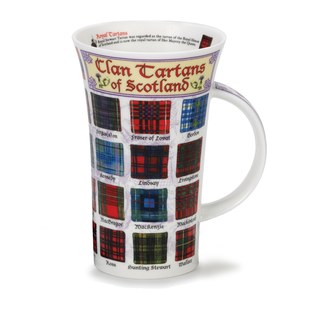 GLEN CLAN TARTANS OF SCOTLAND