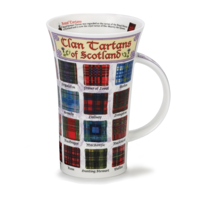 GLENCOE CLAN TARTANS OF SCOTLAND