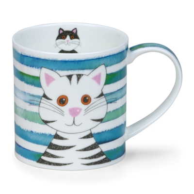 ORKNEY STRIPY CATS TURQUOISE