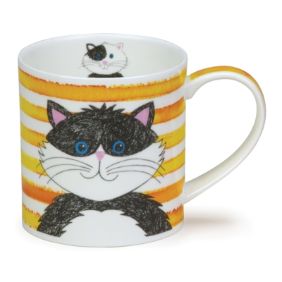 ORKNEY STRIPY CATS YELLOW