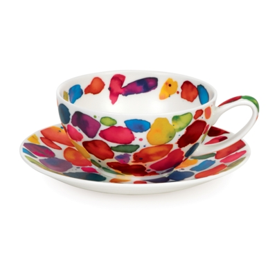 T41 Cup and Saucer Bright