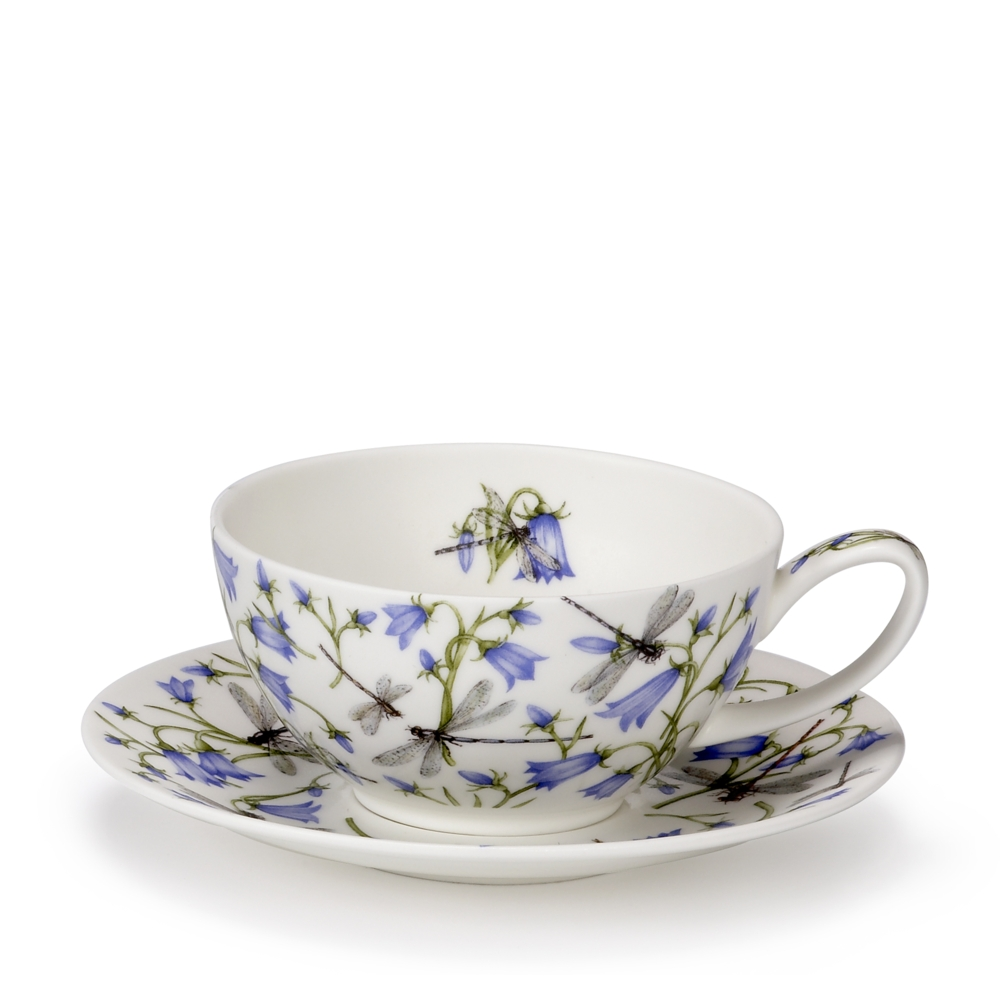 TEA FOR ONE CUP/SAUCER DOVEDALE HAREBELL