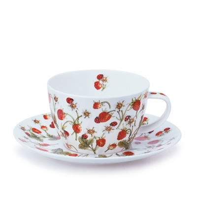 BREAKFAST CUP AND SAUCER DOVEDALE STRAWBERRY