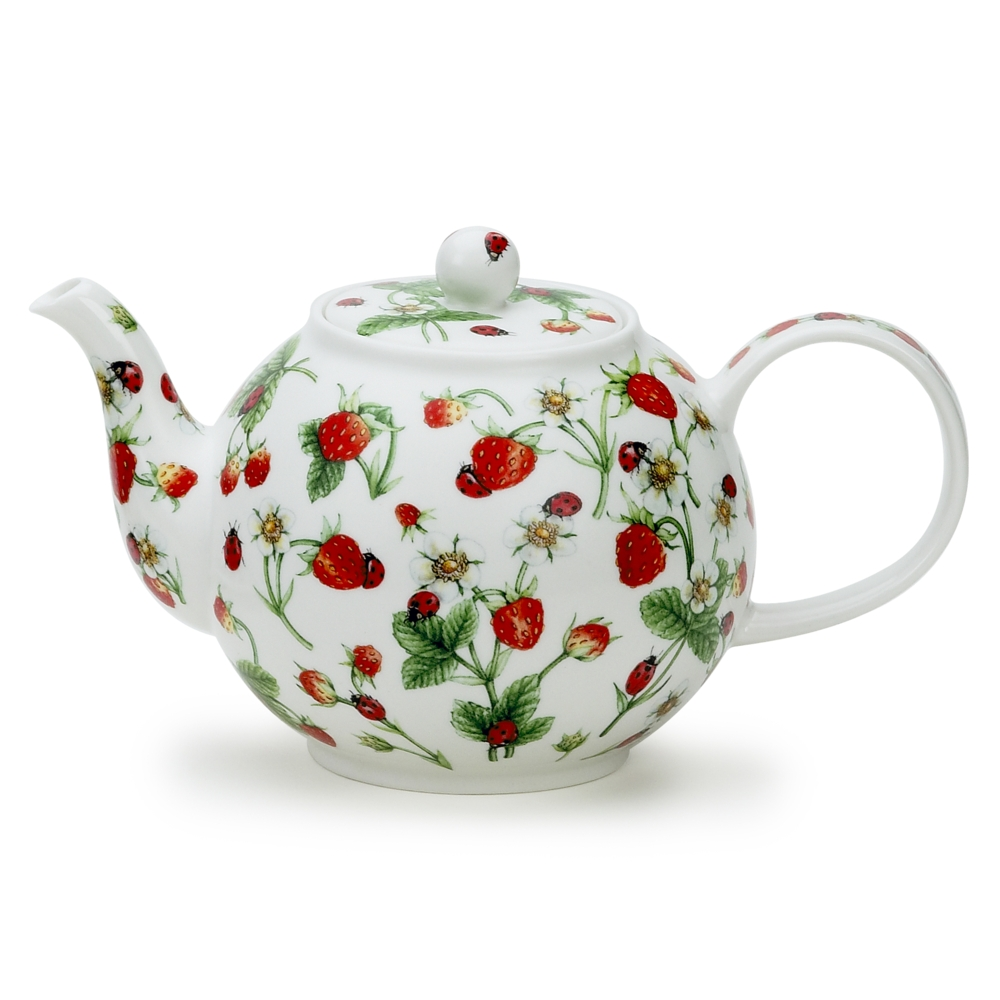 LARGE TEAPOT D/DALE STRAWBERRY