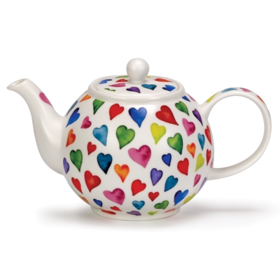 LARGE TEAPOT WARM HEARTS