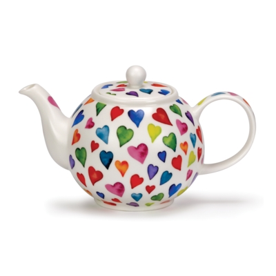 SMALL TEAPOT WARM HEARTS
