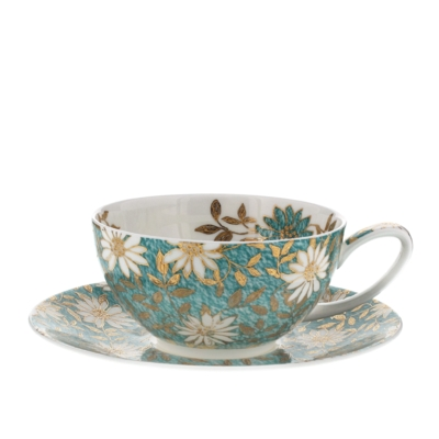 TEA FOR ONE CUP/SAUCER NUOVO