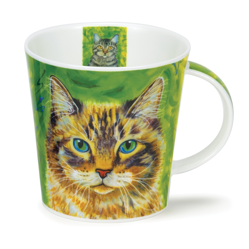 CAIR GALLERY CATS GREEN