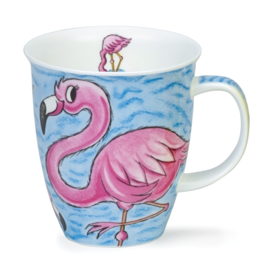 NEVIS TROPICAL BIRDS FLAMINGOE
