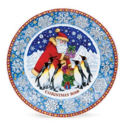PLATE CHRISTMAS 2018