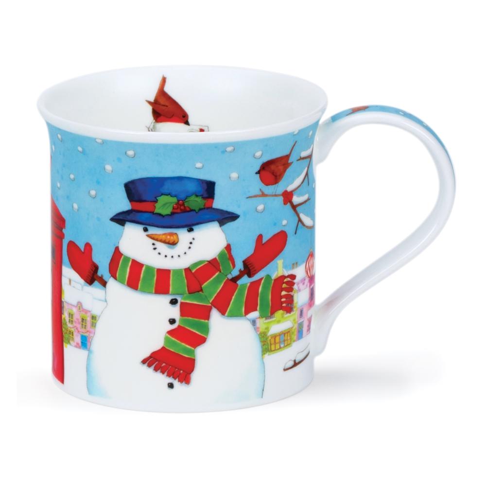 BUTE CHRISTMAS POST SNOWMAN