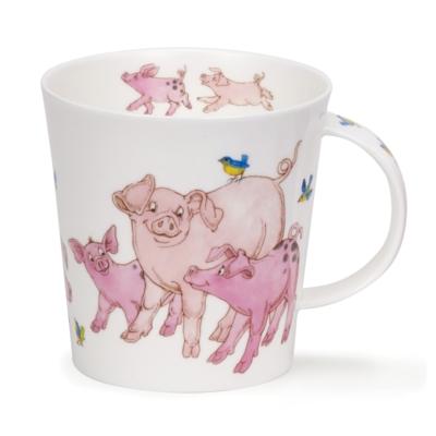CAIRNGORM TICKLED PINK PIG