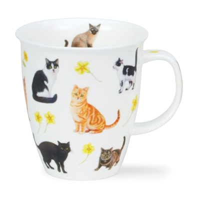 NEVIS FLOWER CATS YELLOW