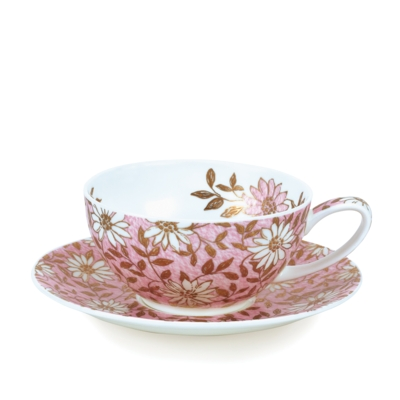T41 CUP/SAUCER NUOVO PINK
