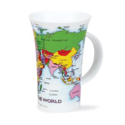 GLEN MAP OF THE WORLD