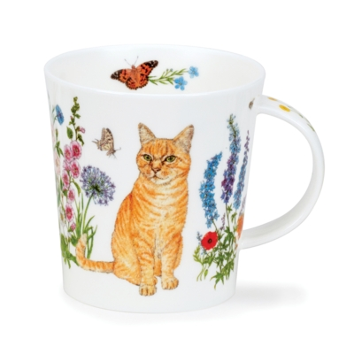 LOMO FLORAL CATS GINGER