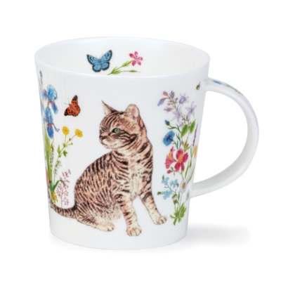 LOMO FLORAL CATS TABBY