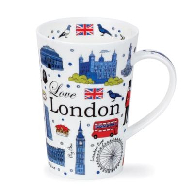 SHET MUG ONLY LOVE LONDON