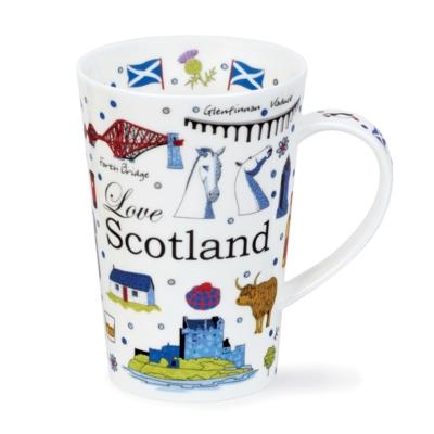 SHET MUG ONLY LOVE SCOTLAND